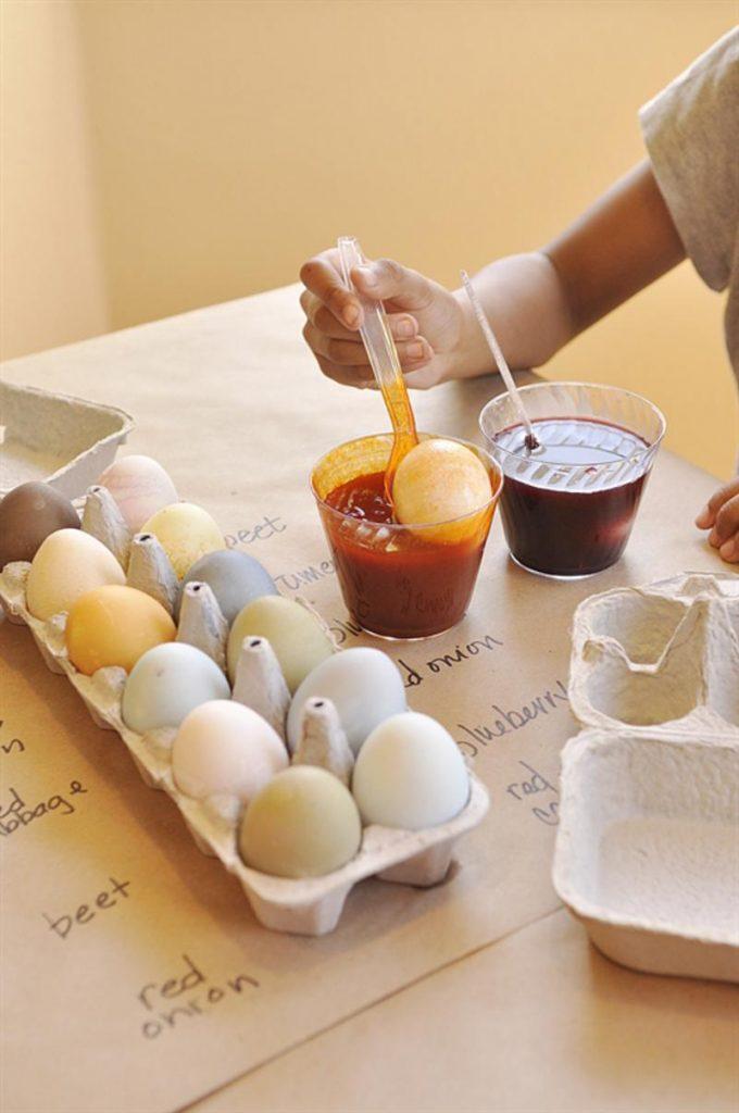 gyönyörű húsveti tojast