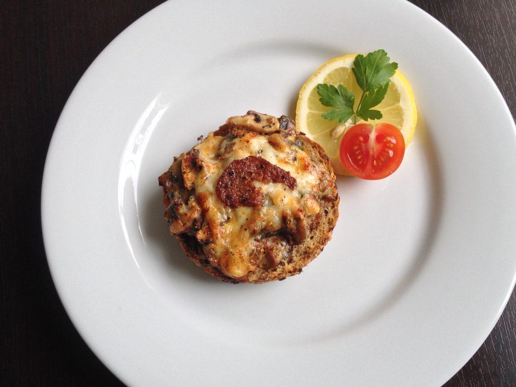 Crock Champignon - Gyors Gombás melegszendvics