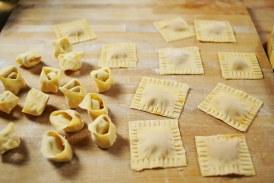 Ricottás diós házi tortellini ,recept