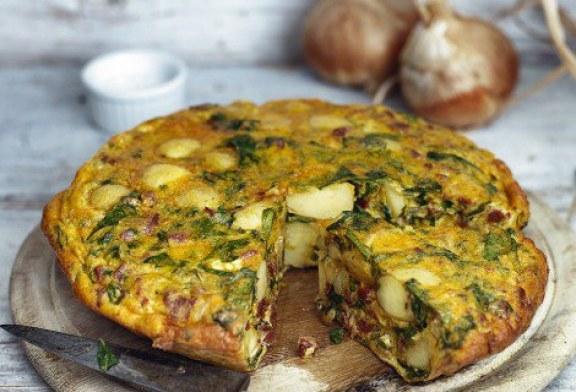 Raymond Blanc: újburgonyás és Chorizós tortilla – recept