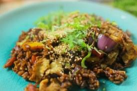 Ázsiai pirított rizs, recept