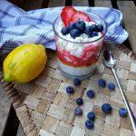 Gyümölcsös házi túrókrém, recept