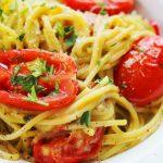 Krémes avokádós spagetti, recept