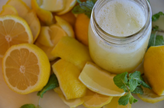 citromos víz anyagcsere