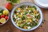 Lili fetasajtos quinoa saláta, recept