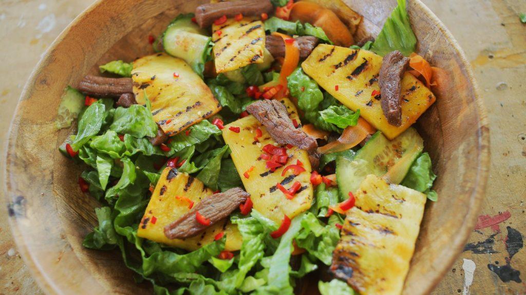 Jani marhahús salátája
