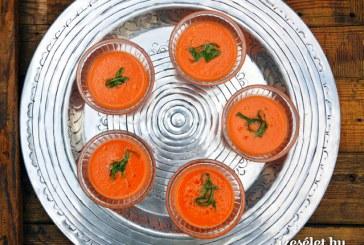 Görögdinnyés gazpacho, recept