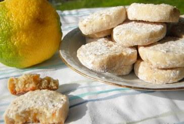 Omlós Citromos keksz, recept