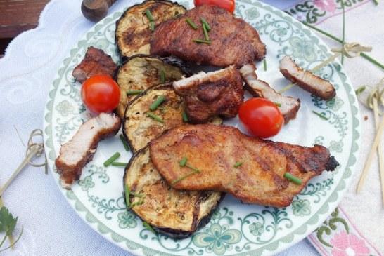 Grillezett mézes karaj, recept
