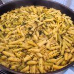 Kapros zsenge zöldbab főzelék, recept