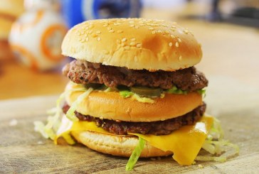 így készül a házi Big Mac, recept