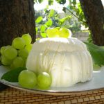 Fehérboros szőlőparfé, recept