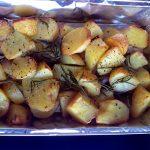 Ropogós sült krumpli rozmaringgal, recept