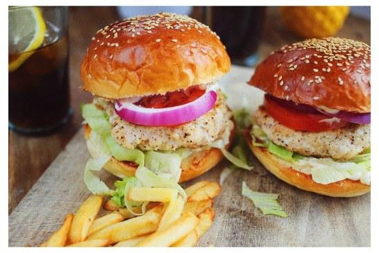 Csirkemell burger, recept