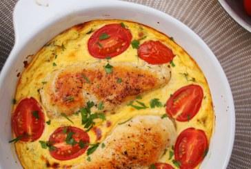 Tejfölös sült csirke: szimpla hozzávalókból fullos vacsora