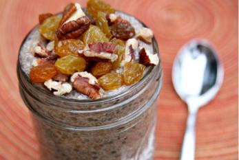 Az ősz legjobb fogyókúrás reggelije: Mézeskalácsos chia puding, recept
