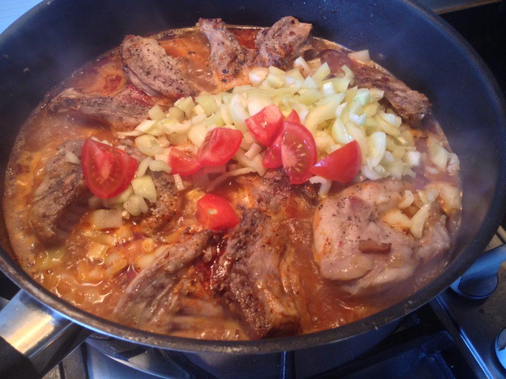 nyúlpörkölt-rabbit stew