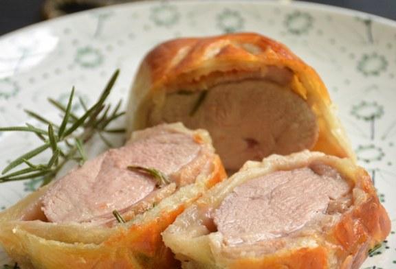 Rosé kacsamell vajas tésztában sütve, recept