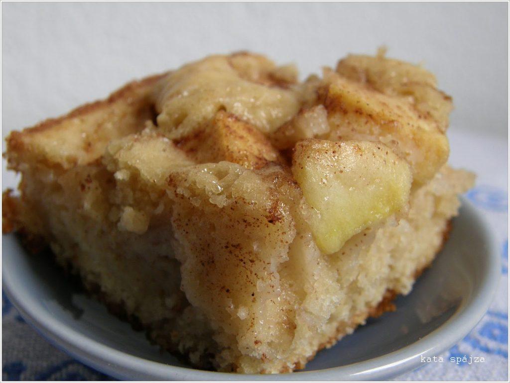 Almás zabpelyhes süti