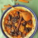Aszaltszilvás, fahéjas bárány Marokkó style, recept