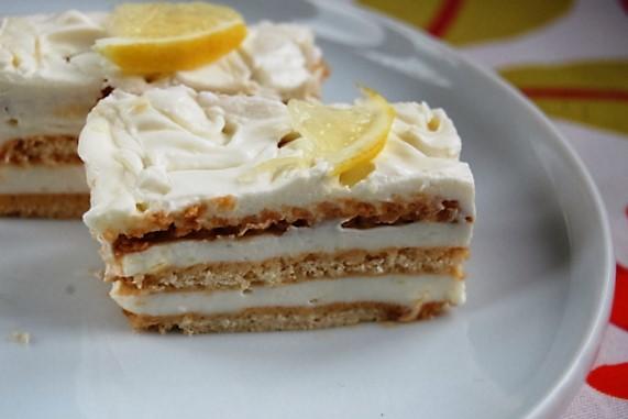 Igazán krémes Citromos kekszes süti