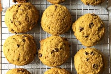 Sütőtökös csokis keksz, recept