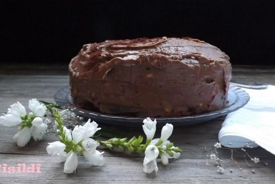 Csokoládétorta fekete babbal, recept