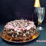 Gluténmentes Csokoládétorta mandulás piskótával, recept