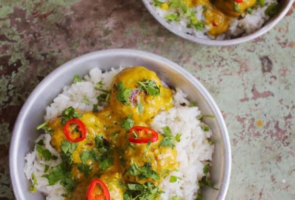Indiai fűszeres húsgolyók, recept