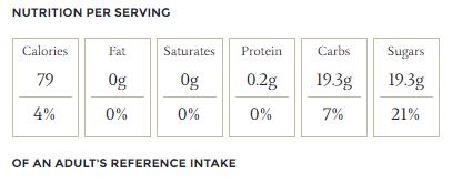 Jamie Oliver - Citrom sorbet kalória táblázat