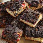 Nagyon mákos, nagyon szilvás süti, recept