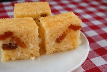 Egyszerű Olajos-túrós süti, recept