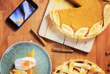 Őszi amerikai sütőtökös vagy körtés-fahéjas pite, recept