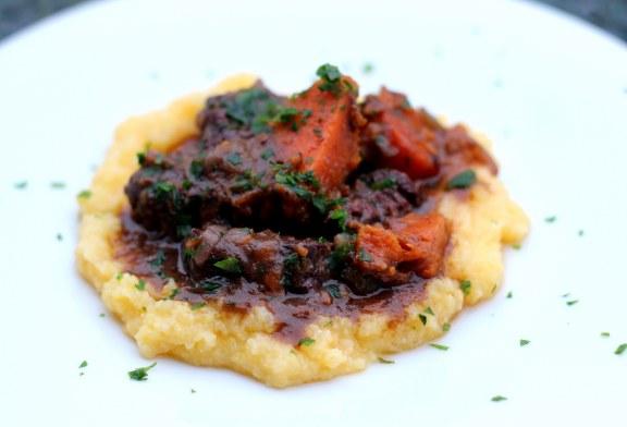 Vörösboros marharagu sütőtökkel, recept