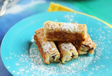 Banános french toast rolls, recept