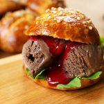 Briós fagyi burger, recept