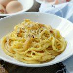 Carbonara spagetti, recept