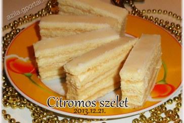 Citromos szelet, recept