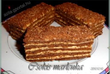 Eredeti csokis MARLENKA, recept