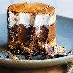 Sütés nélkül: Csokoládés citromos habszelet, recept