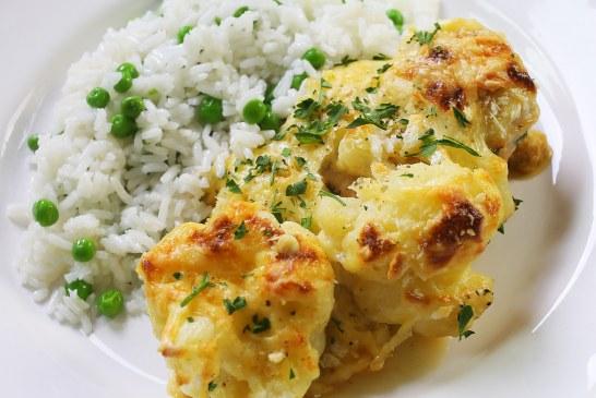 Brutális csirke dubarry, recept