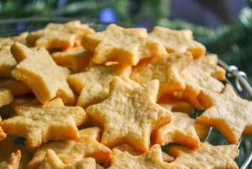 Filléres sajtos karácsonyi csillagok, recept