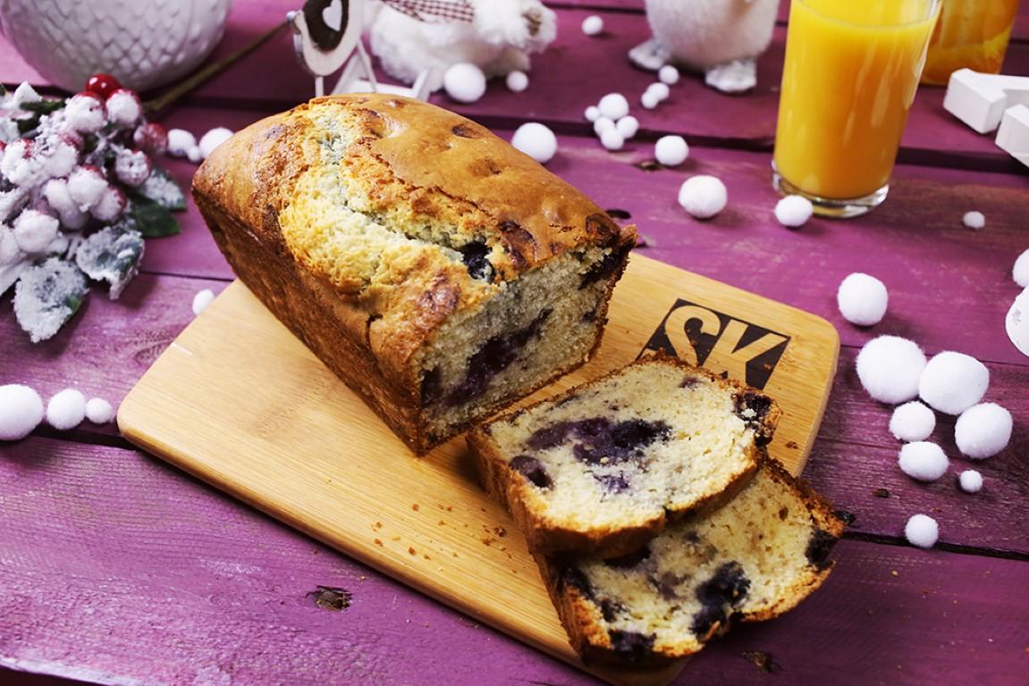 áfonyás muffinkenyér