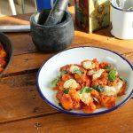 Paradicsomos-mascarponés gnocchi, recept