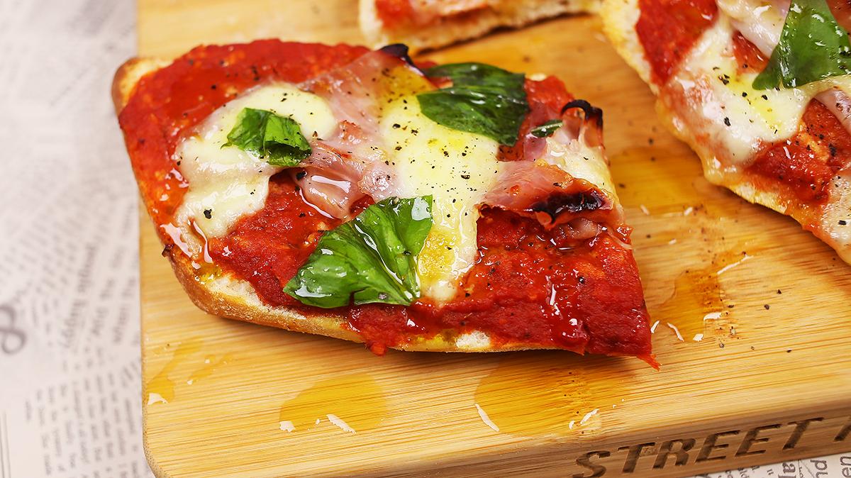 pizzás melegszendvics