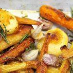 Jamie Oliver – Karácsonyi sült krumpli, répa, paszternák, recept