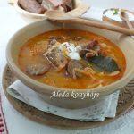 Savanyúkáposzta leves, recept
