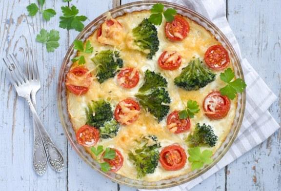 Gyors Tejszínes-brokkolis rakott tészta – recept