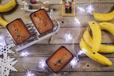 Karácsonyi banánkenyér – recept