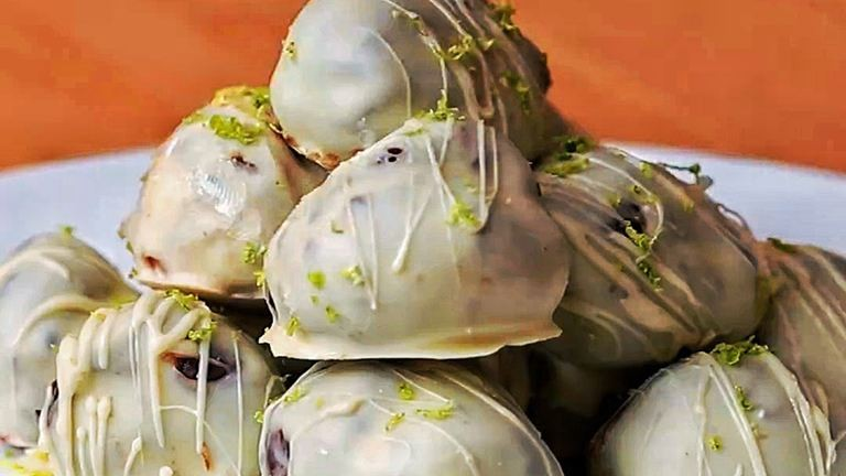 Bombajó édesség: gin-tonic trüffel